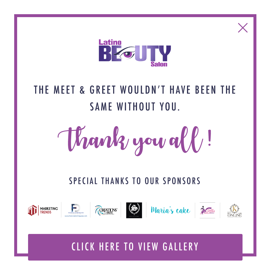 Latino Beauty Salon kicks off its 20th anniversary celebration!