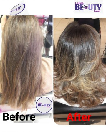 Hair treatment Latino Beauty Salon