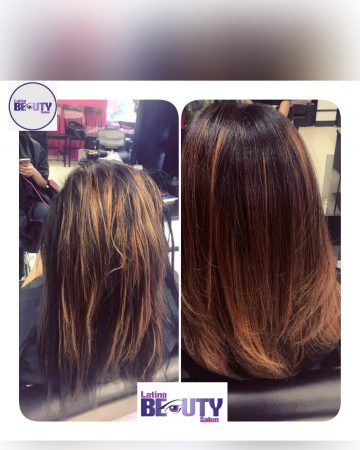 Hair treatment Latino beauty salon Roxbury